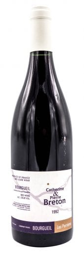 1992 Catherine & Pierre Breton Bourgueil Les Perrieres 750ml